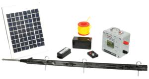 Kampta Elektrikli Çit Sistemi